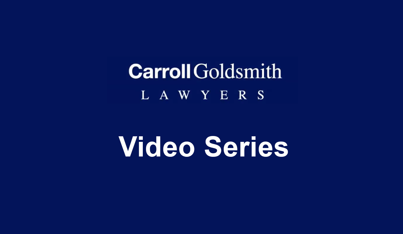 Wills and Estates Video Series